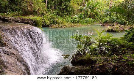 Secret Single Tier Waterfall