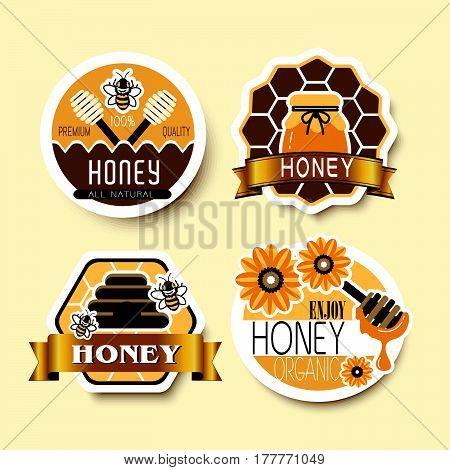 Honey Label Set