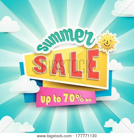 Summer Bargain Sale Poster
