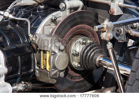 Motor und Bremsen
