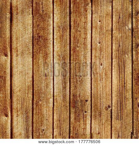 Seamless wood texture, of dark brown planks.