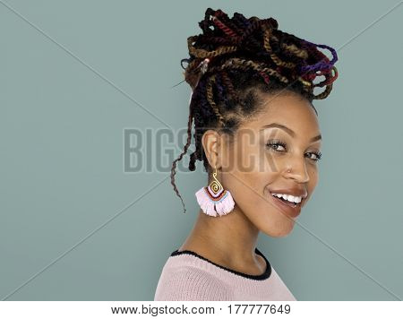 African Descent Female Smile Happy