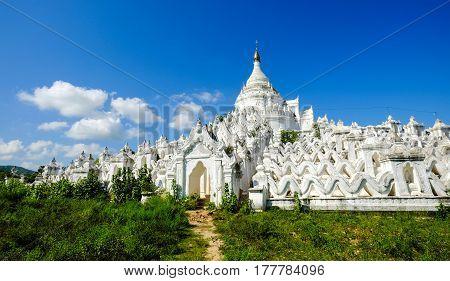 Mya Thein Dan Pagoda In Mingun, Myanmar