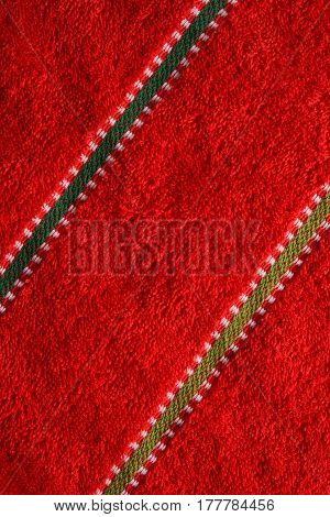 Beautiful red cloth background texture in high resolution