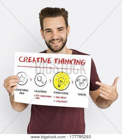 Creative Thinking Ideas Inspiration Icon