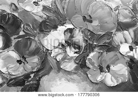 Texture oil painting flowers art painted color image paint wallpaper and backgrounds canvas artist impressionism painting floral pattern