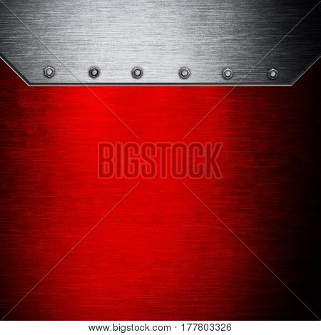 grunge of metal template background