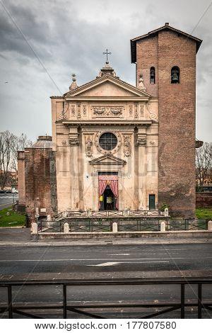 basilica of San Nicola in Rome of Italy