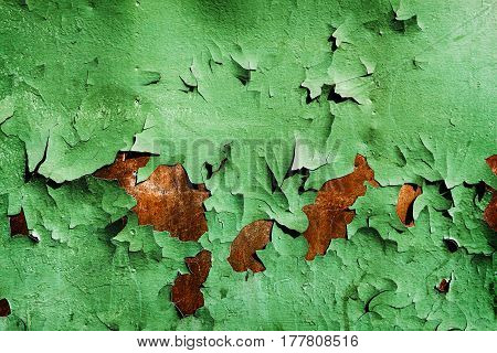 Peeling paint background, metal, rusty metal texture, abstract metal background, iron metal, grunge texture