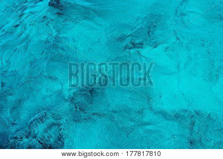Clear Caribbean Sea Water Texture