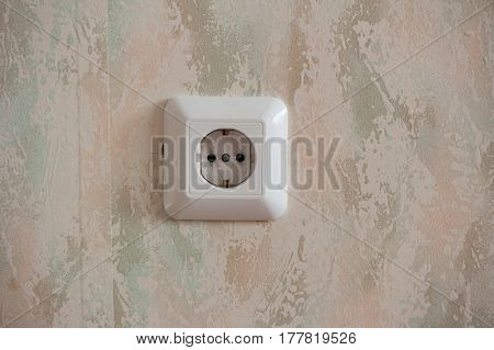 Convenience outlet on the wall