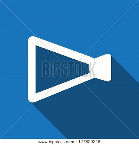 announcement icon stock vector illustration flat design