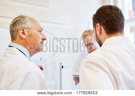 Doctors during training as medical representative