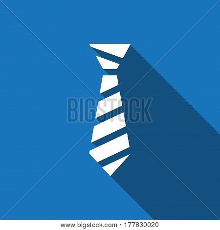 Tie icon vector stock vector illustration flat design