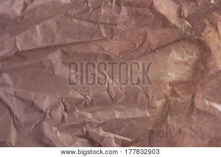 Image of real colorful wrinkled paper texture