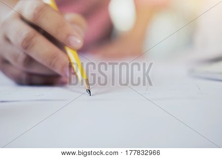 Writing Note, Business And Education Concept.