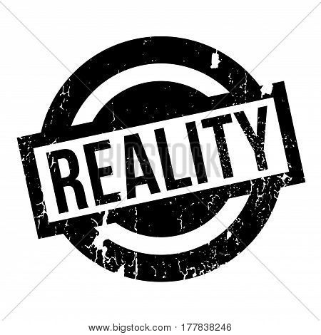 Reality rubber stamp. Grunge design with dust scratches. Effects can be easily removed for a clean, crisp look. Color is easily changed.