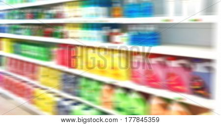 In Iran Abstract Supermarket Blur
