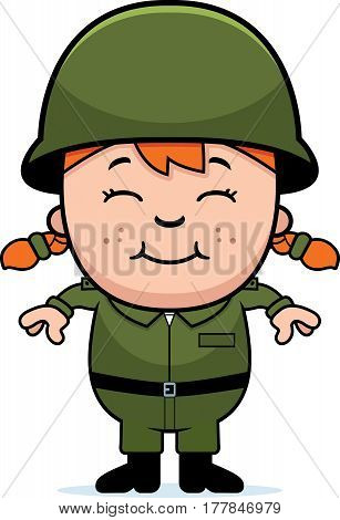 Army Soldier Girl