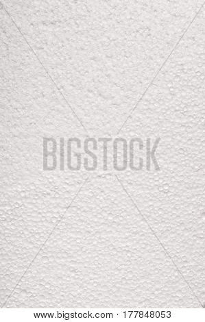 highly detailed soft contrast white styrofoam background