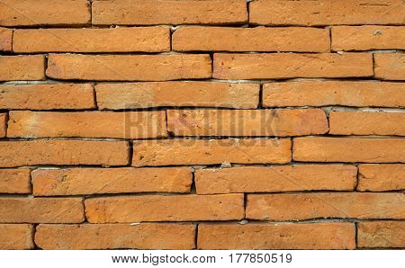 old ref brown brick wall textured background