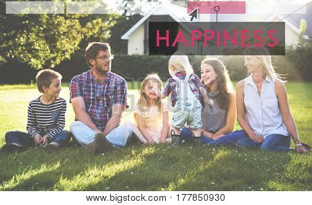 Family Happiness Memorable Outdoors Click