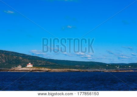 Lighthouse Near Bar Harbor Maine