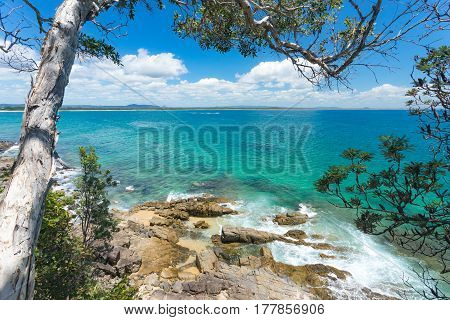 Tea Tree Bay in Noosa National Park, Queensland, Australia.