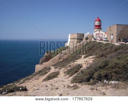 lighthouse Sagres, Portugal