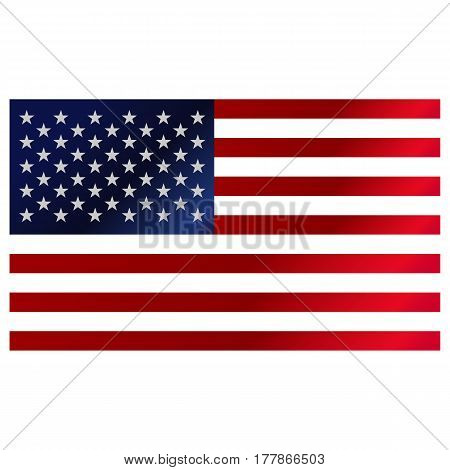History flag symbol freedom pictogram USA vintage election union background.