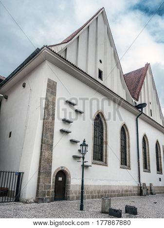 Reconstructed Medieval Bethlehem Chapel, Praque, Czech Republic