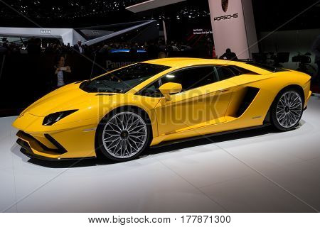 Lamborghini Aventador S Sports Car