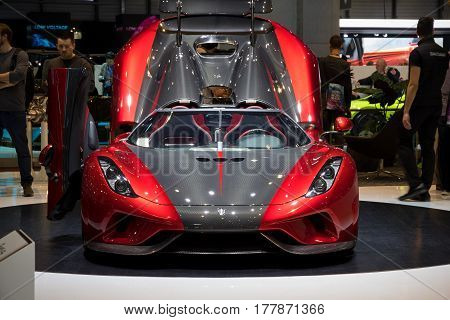 2018 Koenigsegg Regera Sports Car
