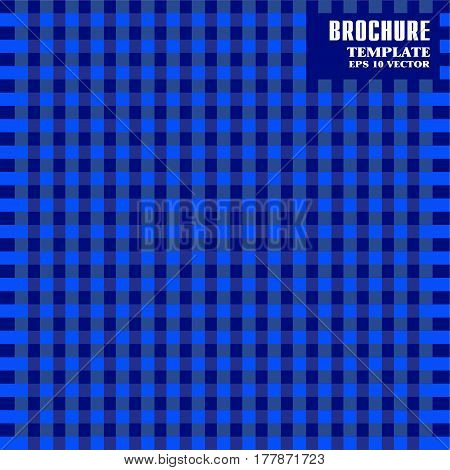 Bstract, Geometric, Background, Square. Brochure, Flyer Or Report For Business, Templates Vector