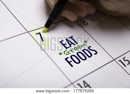 Eat Green Foods