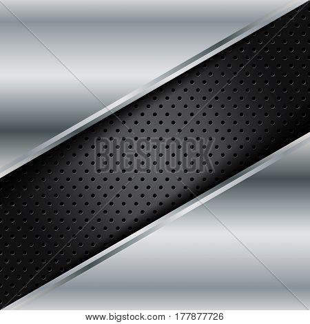 Vector of abstract metallic background .EPS10. vector