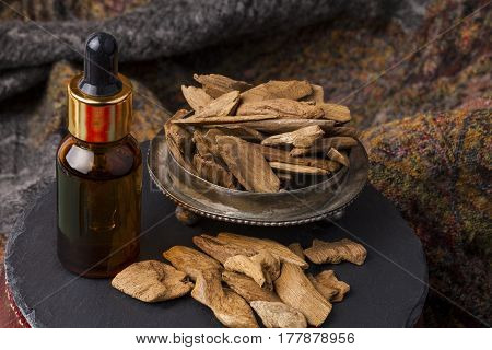 Agarwood, also called aloeswood, aloes, aroma oil and incense chips