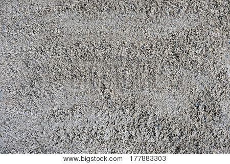 the texture of sea sand from close range