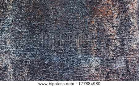 Brown and grey background with concrete texture horizontal top view isolated vintage dark wood backdrop old rustic stone board space blank back on the table mockup brick nuture wall