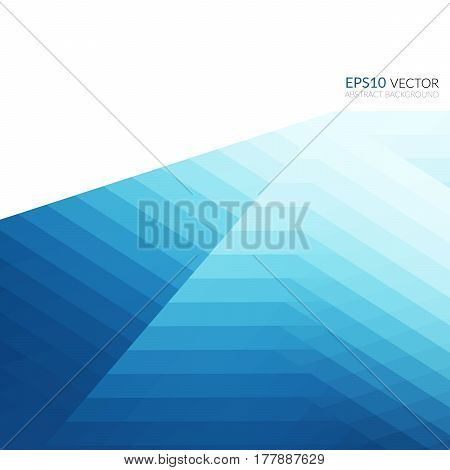 Abstract Background With An Original Layered Geometric Pattern.