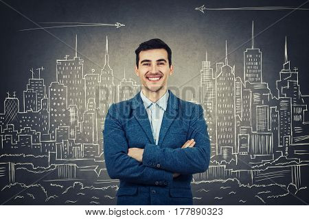 Confident Architect Smiling