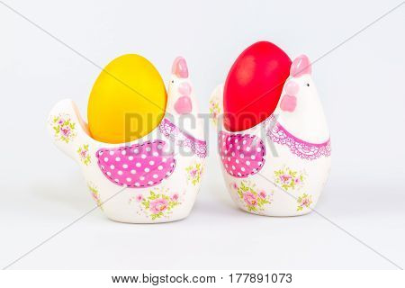 Easter Decoration And Eggs