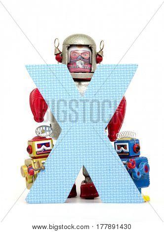 Big letter X