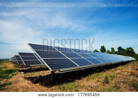 photovoltaic panels - concept of sustainable resources