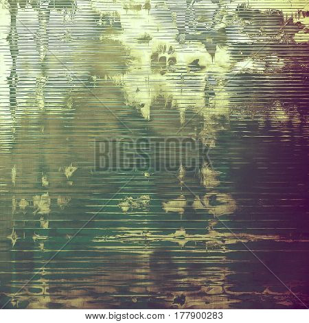 Old, grunge background texture. With different color patterns: yellow (beige); brown; green; gray; purple (violet); pink