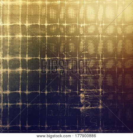 Grunge abstract textured background, aged backdrop with different color patterns: yellow (beige); brown; blue; gray; purple (violet)