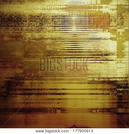 Colorful grunge background, tinted vintage style texture. With different color patterns: yellow (beige); brown; green; gray