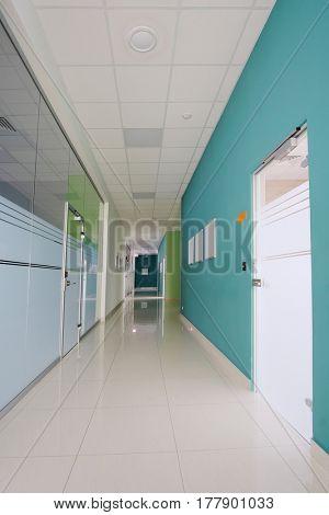 Interior of a corridor