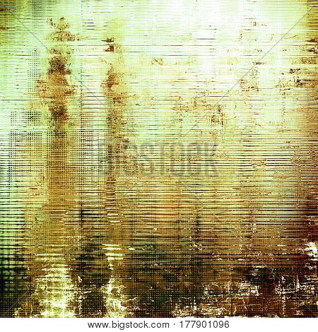 Colorful vintage texture. With different color patterns: yellow (beige); brown; green; gray; white