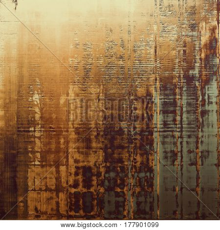 Grunge colorful texture for retro background. With different color patterns: yellow (beige); brown; gray